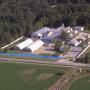 Skladově-výrobní areál v Senici - letecký pohled
